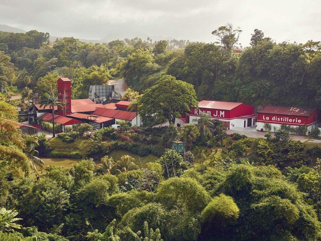 The Rhum J.M. distillery