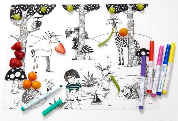 Kidz Box Illustrated Placemats