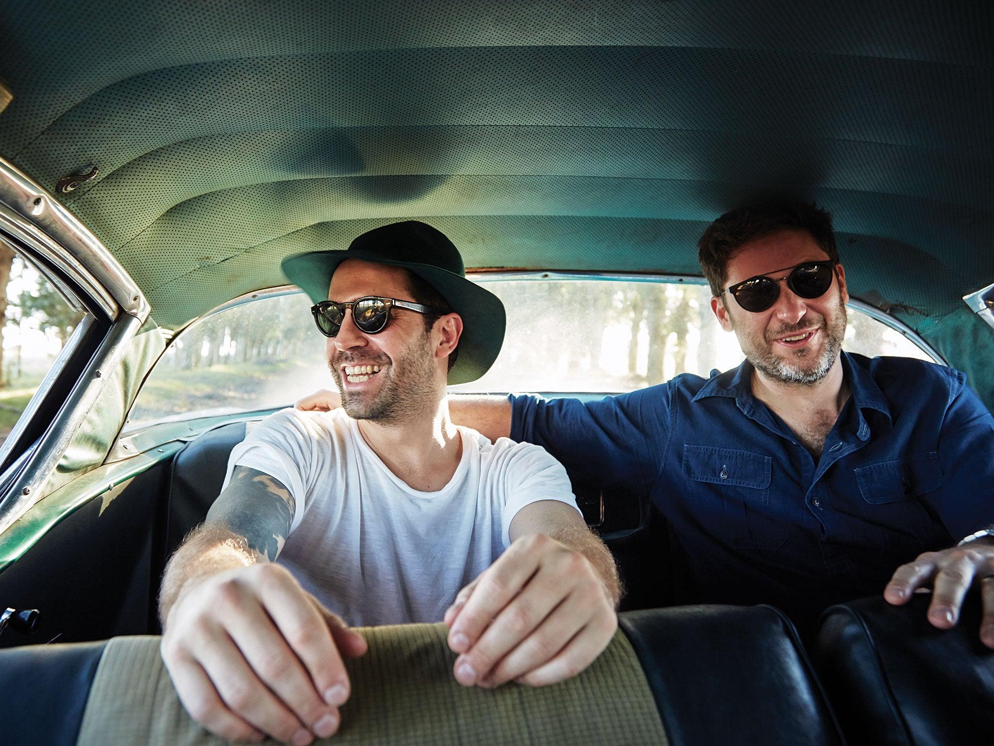 Uruguay 58 Chevy Impala road trip