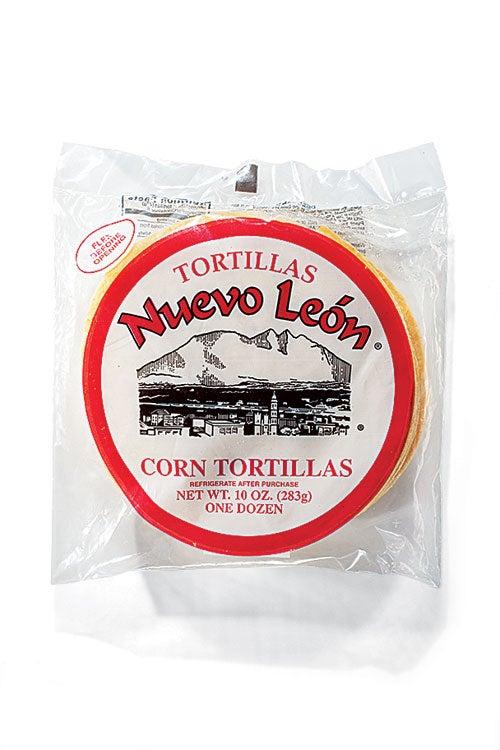 Nuevo Leon Yellow Corn Tortillas