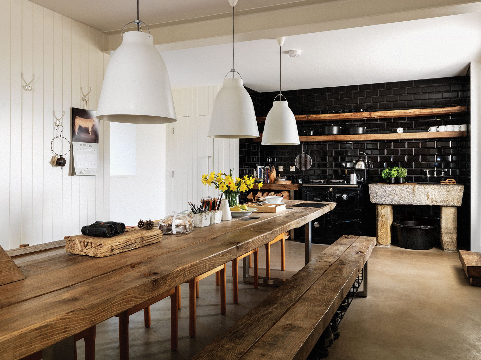 British Farmhouse Contemporary