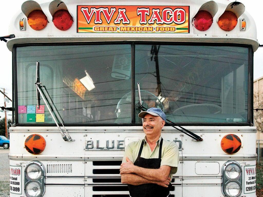 Sylvester Valencia Viva Tacos Turlock California