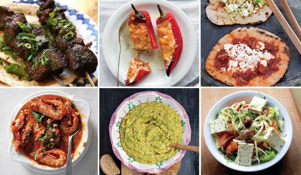 Greek small plate menu