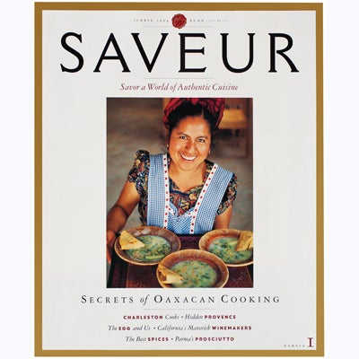 150 Issues of Saveur Covers