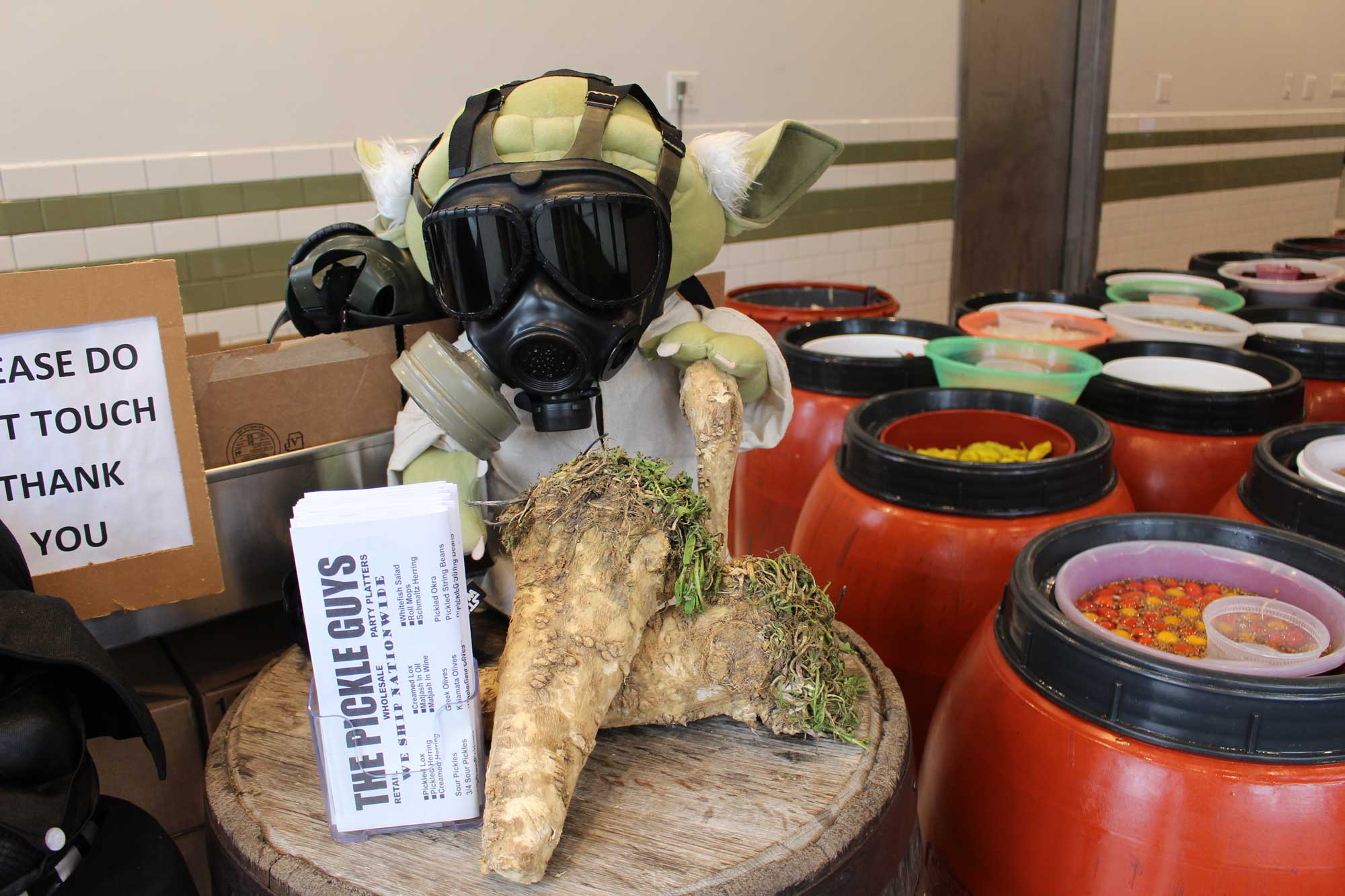 These Pickle Guys Are Grinding 2,700 Pounds of Horseradish for Passover