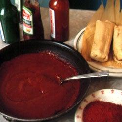 Mrs. Sanchez's Red Chile Sauce