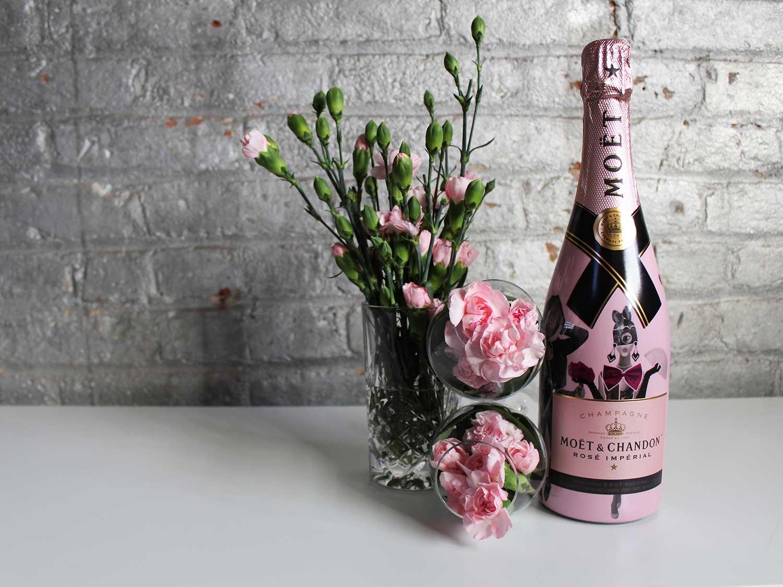 Moët & Chandon Limited-Edition 'Love Unconventional Rosé Imperial'