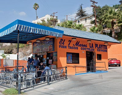 a popular taco joint in Silver Lake