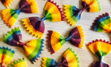 Meet the Instagrammer Turning Pasta Into Rainbow Art