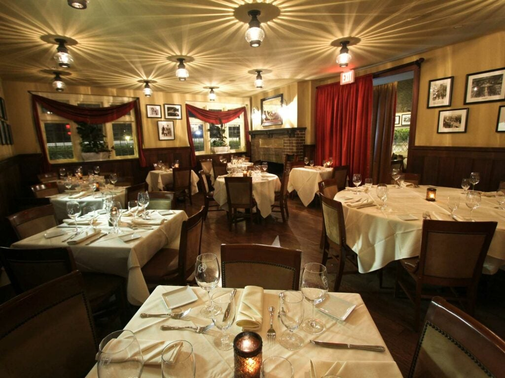 The Knife & Fork Inn's Hearth Room
