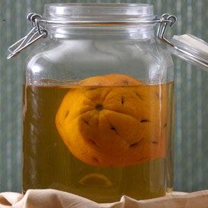 Orange-and-Coffee-Flavored Rum Liqueur