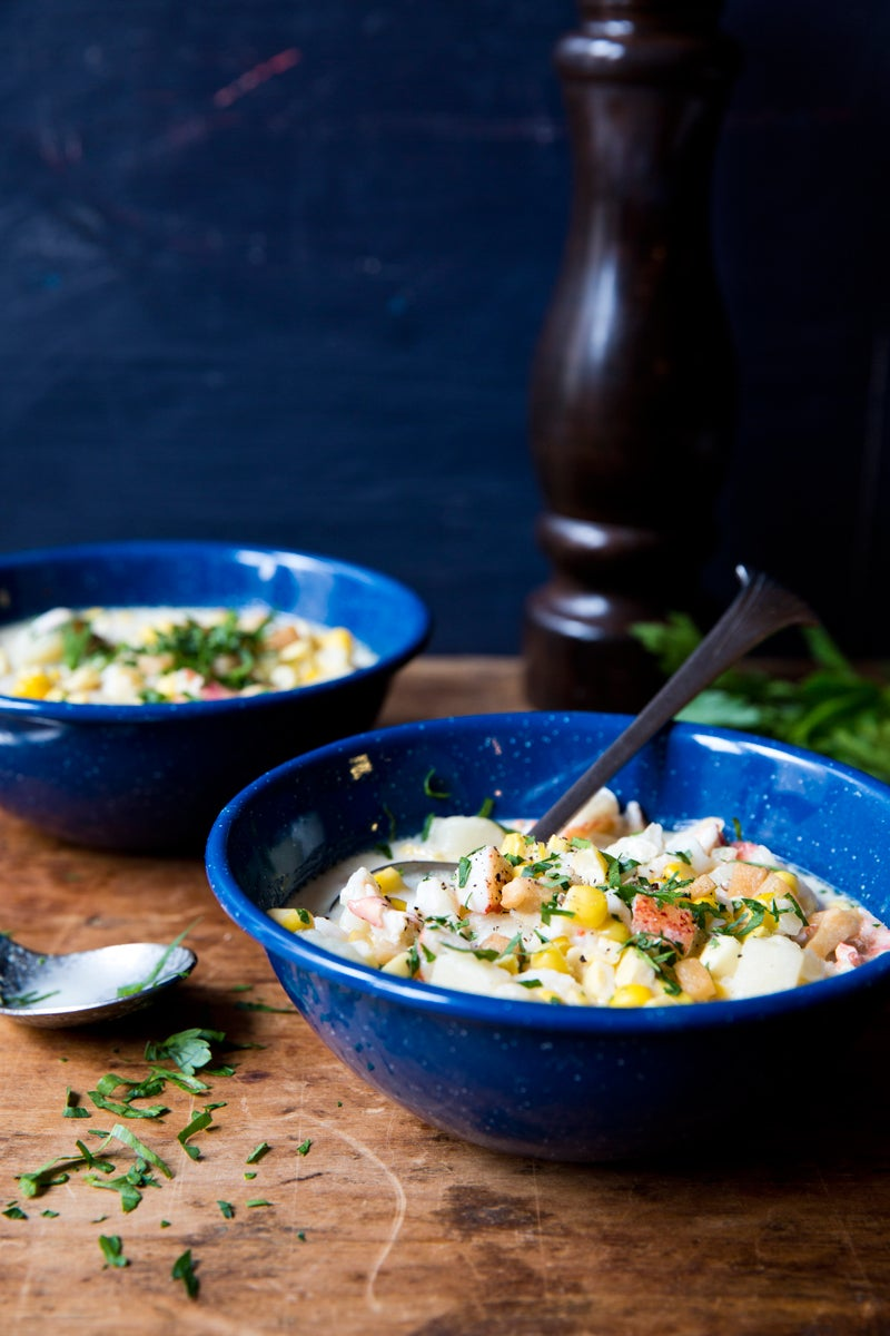 Lobster and Corn Chowder