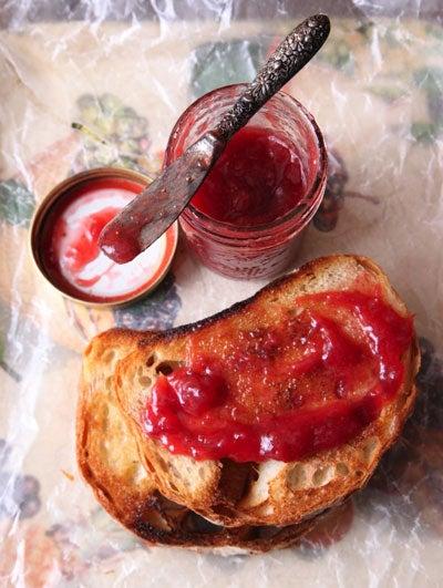 """""""Rhubarb-Strawberry"""