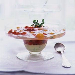 Currant Tomato Parfait