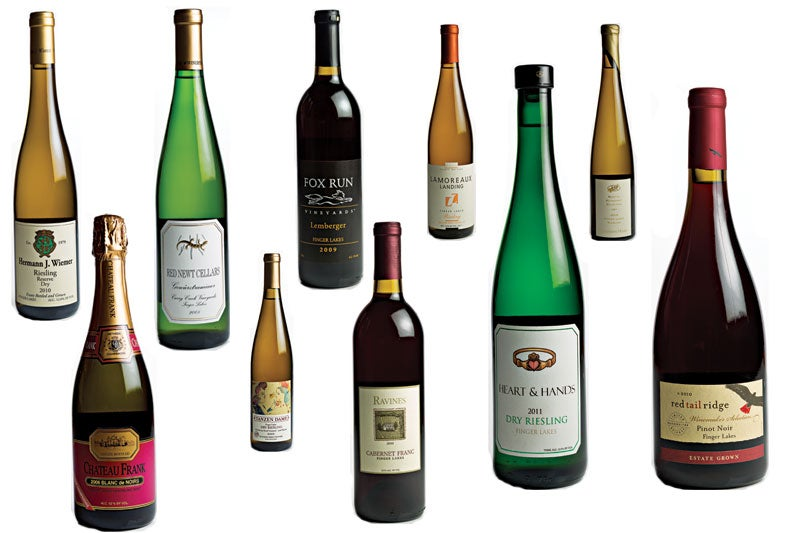 10 Great Wines from the New York Finger Lakes