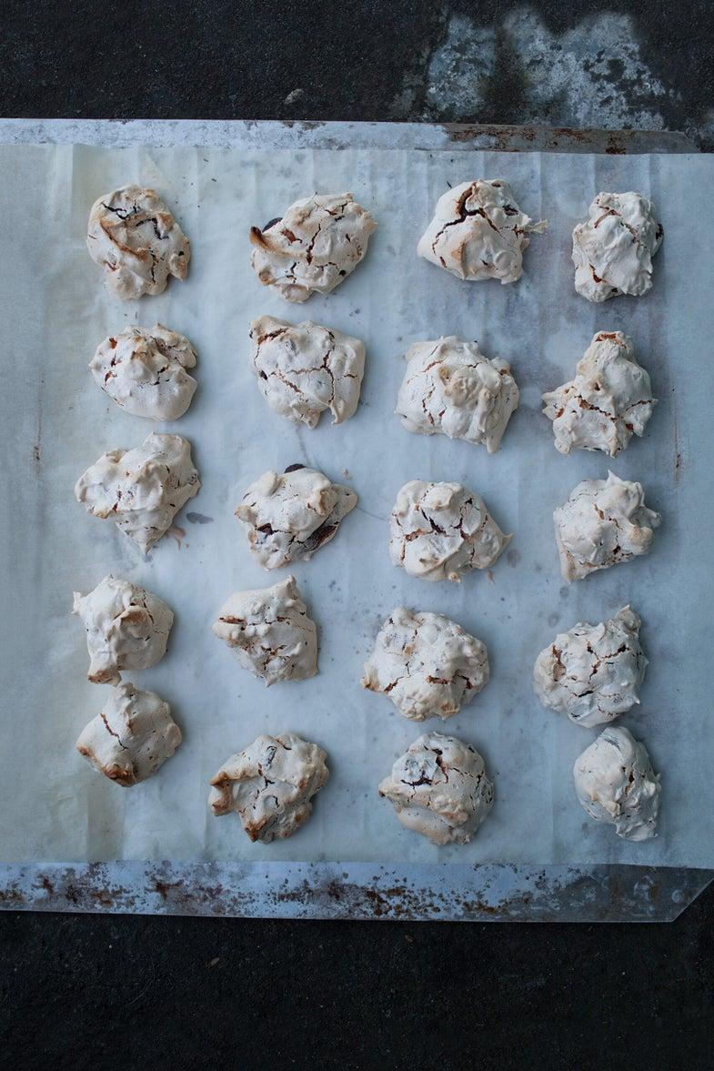 Icelandic chocolate cornflake cookies