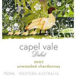 "Capel Vale, Western Australia ""Debut"" Unwooded Chardonnay 2007"