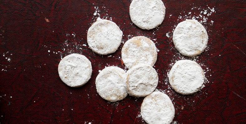 Pecan Shortbread Cookies (Polvorones)