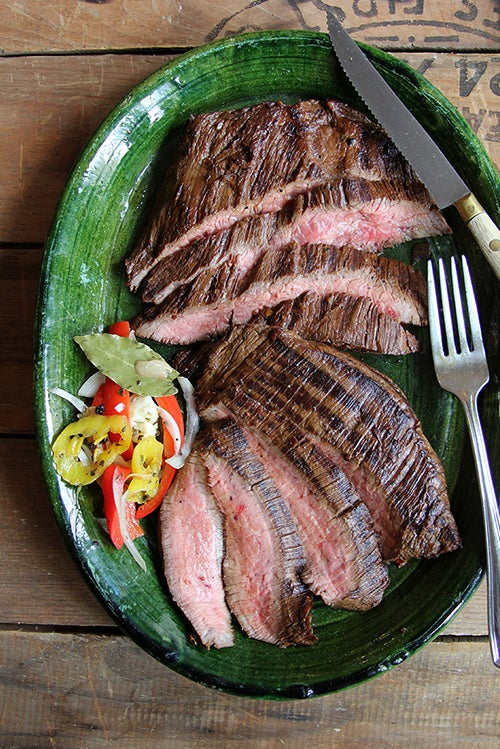 Coffee-and Soy-Marinated Flank Steak