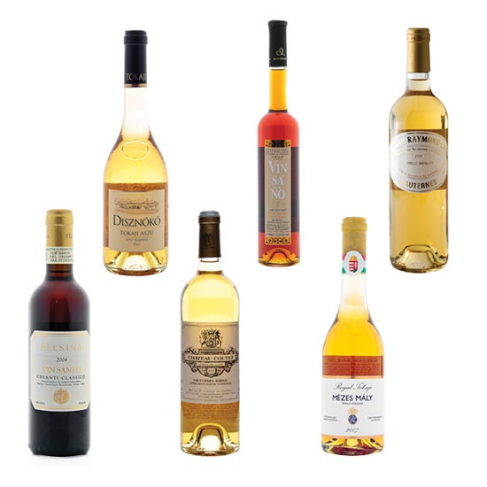 Tasting Notes: Sweet Wines