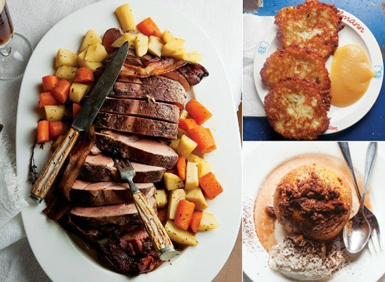 Menu: A Bavarian Christmas Dinner