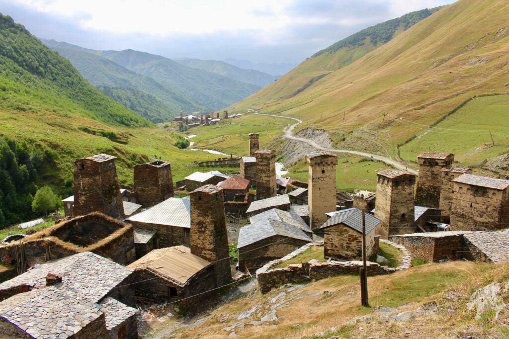 The Georgian countryside