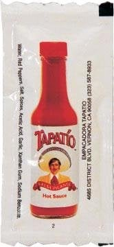 Tapatio hot sauce packets