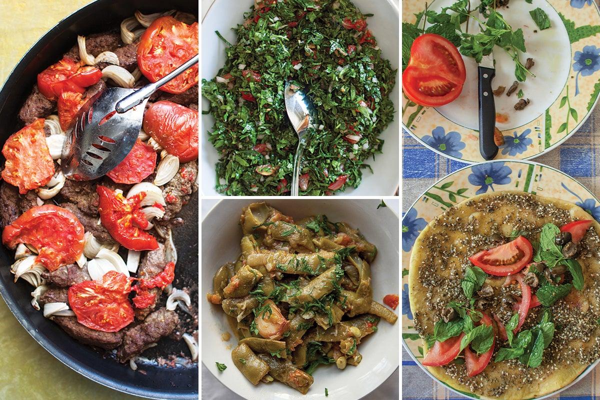 Menu: A Lebanese Harvest Dinner