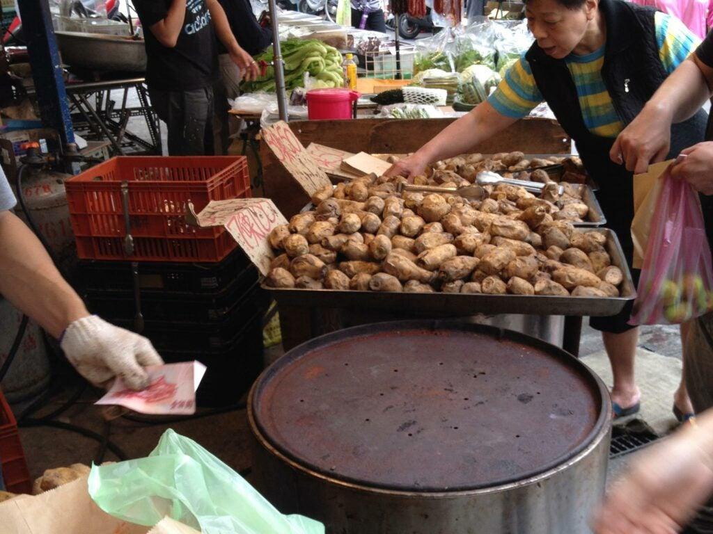 Street Vendors Taiwan