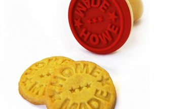 'Home Made' Cookie Stamper