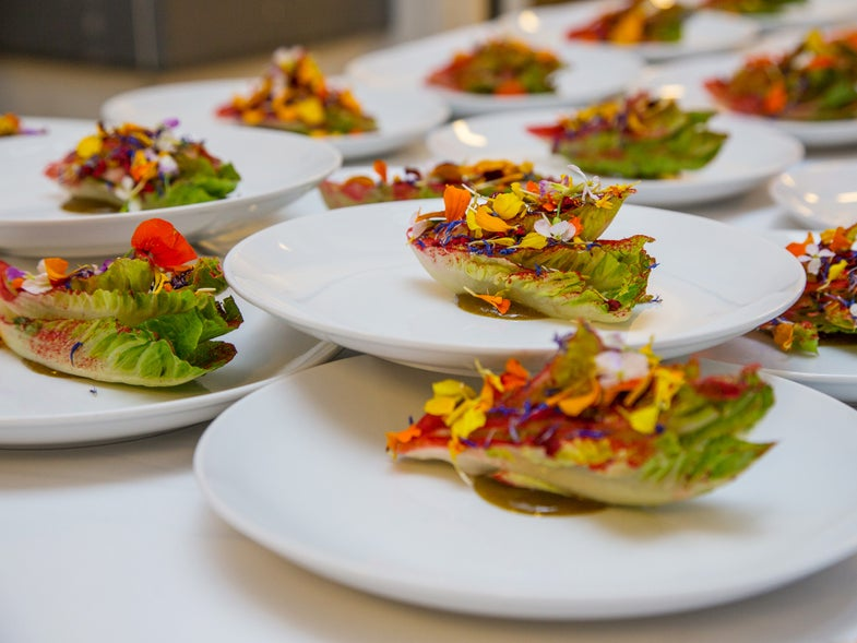 Massimo Bottura's Edible Art, Served Amidst Million Dollar Paintings