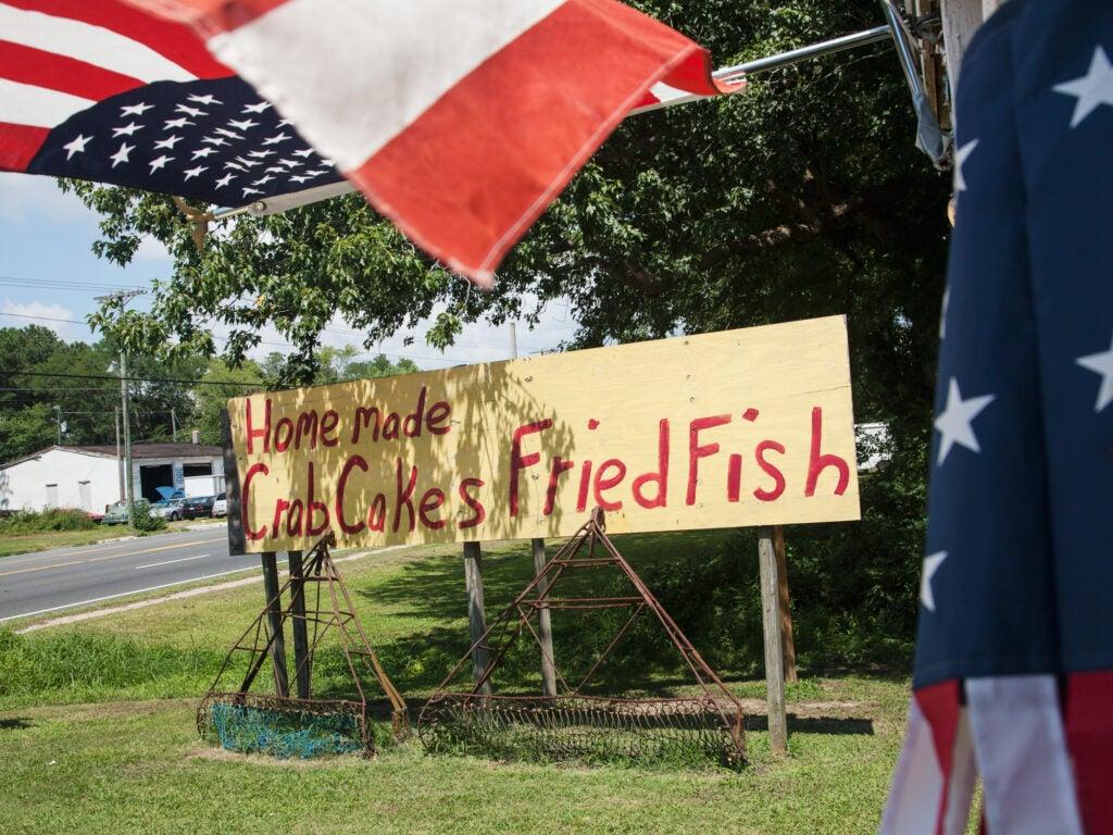 Virginia Eastern Shore, Metompkin Seafood