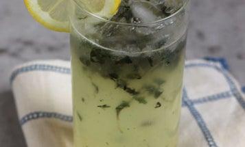 Friday Cocktails: The Lemon Basil Blossom