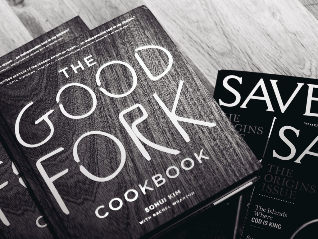 Chef Sohui Kim's brand new Good Fork Cookbook