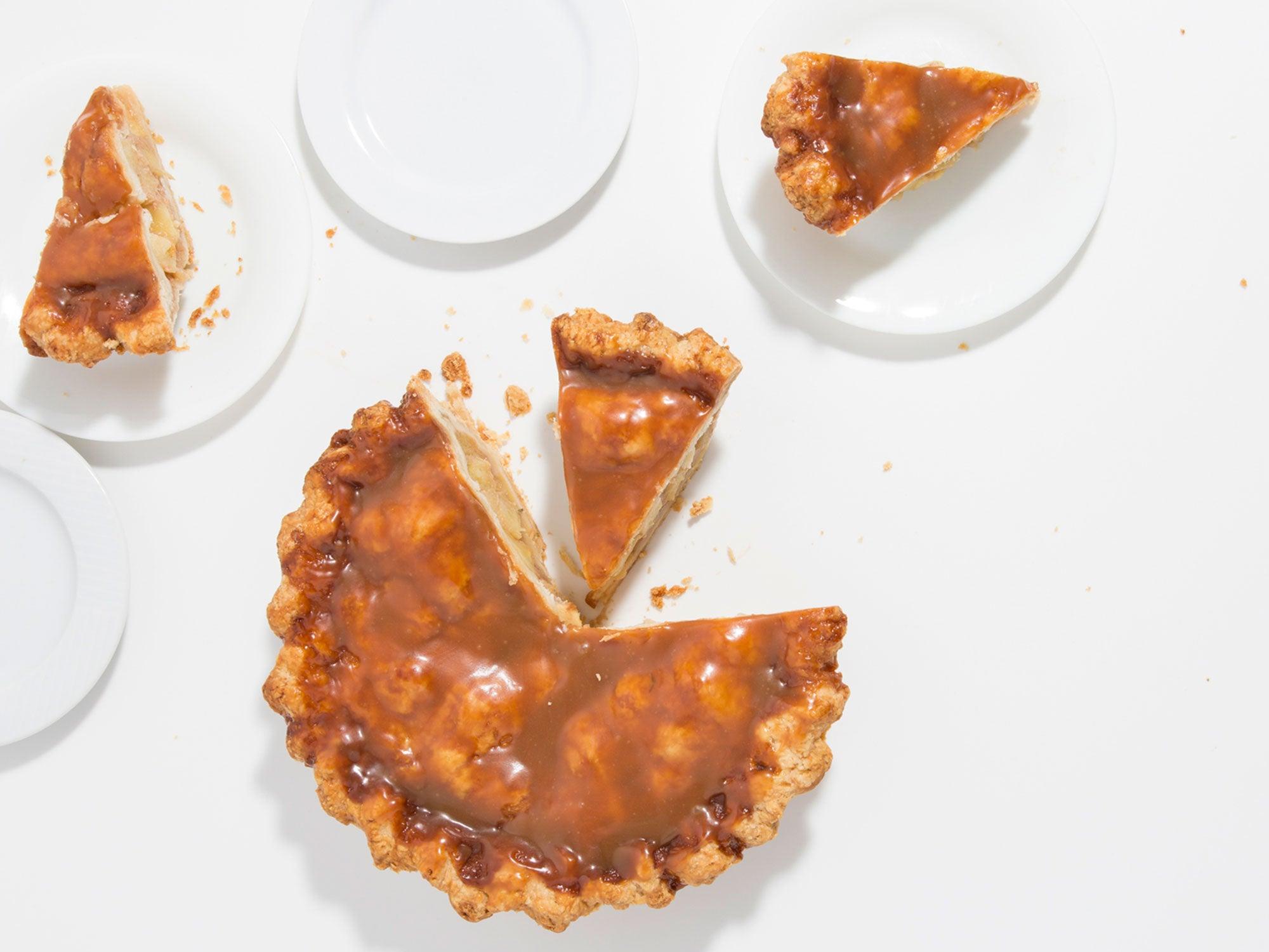 Rosemary-Caramel Apple Pie, holiday pie recipes