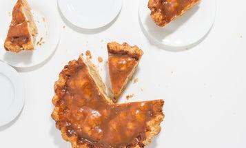 Rosemary-Caramel Apple Pie