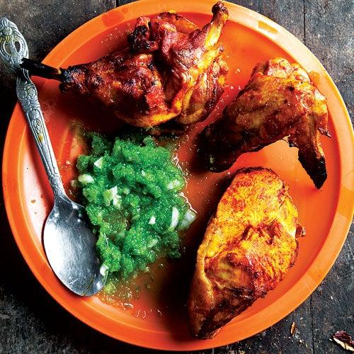 Chile-Spiced Grilled Chicken (Pollo al Horno)