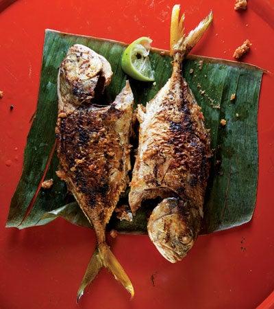 Chile Fried Fish (Ikan Sumbat)