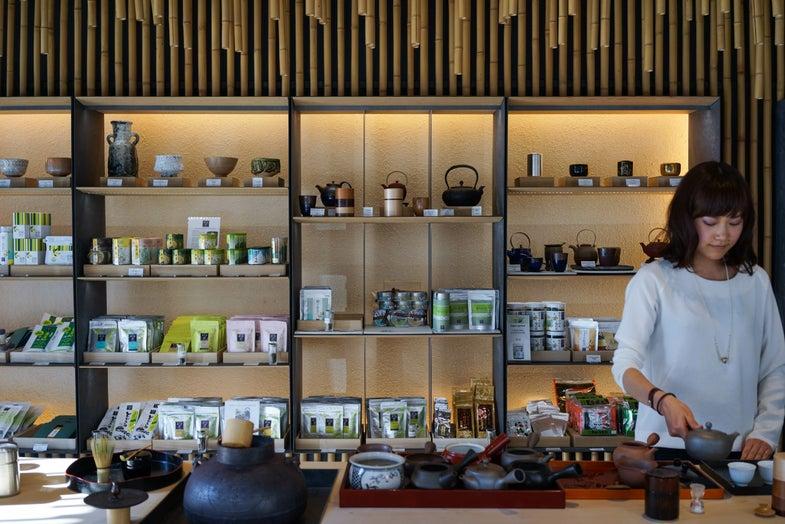 Sip on Japanese Tea in the Heart of Paris