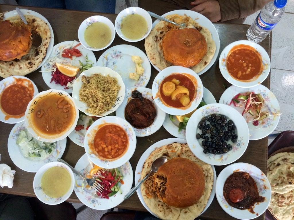 kurdistan food