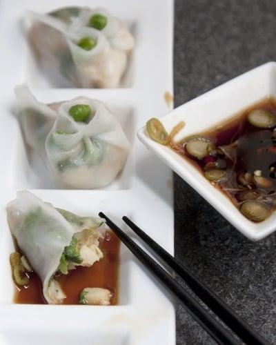 Shrimp and Pea Shoot Dumplings (Har Gow)