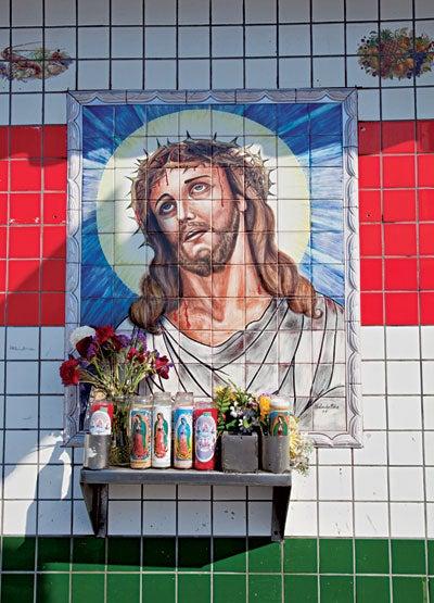 A shrine in East LA