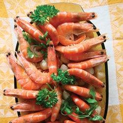 Poached Shrimp and Sautéed Scallops