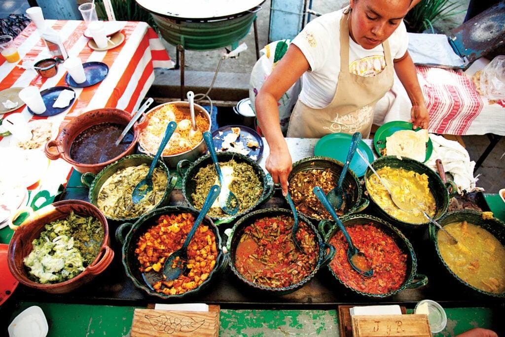 Market vendor in Oaxaca