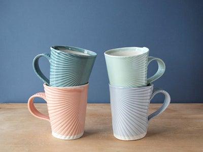 Hand-Made Porcelain Mugs