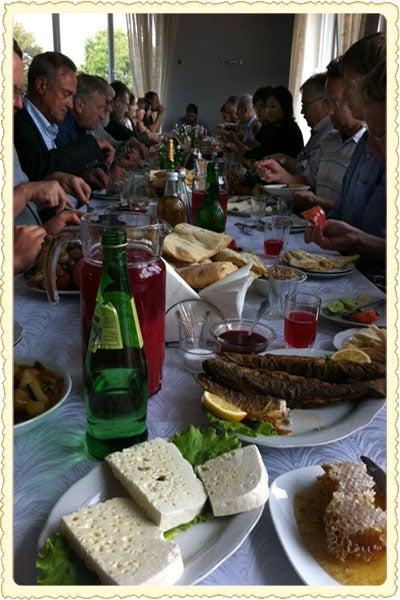 Postcard: Lunch in Republic of Georgia