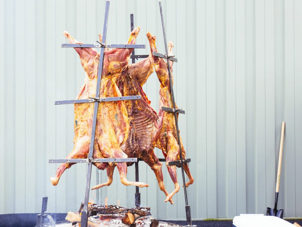 grilled goat