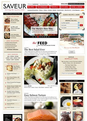 Welcome to the new Saveur.com!