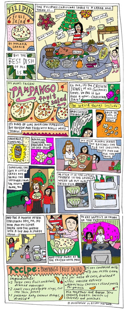 Fruit Salad comic strip