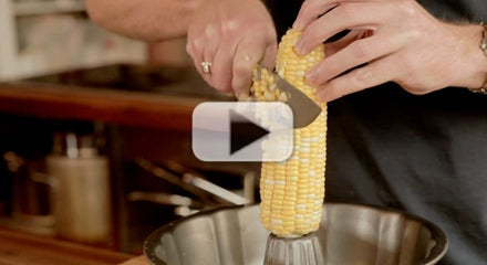 How to Get Corn Off the Cob